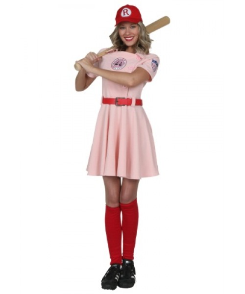 Womens Deluxe Dottie Plus Size Costume