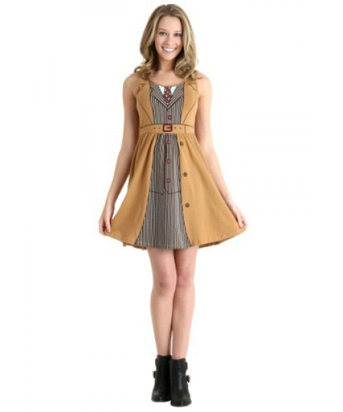 Womens Doctor Who David Tennant Dress Plus Size Costume
