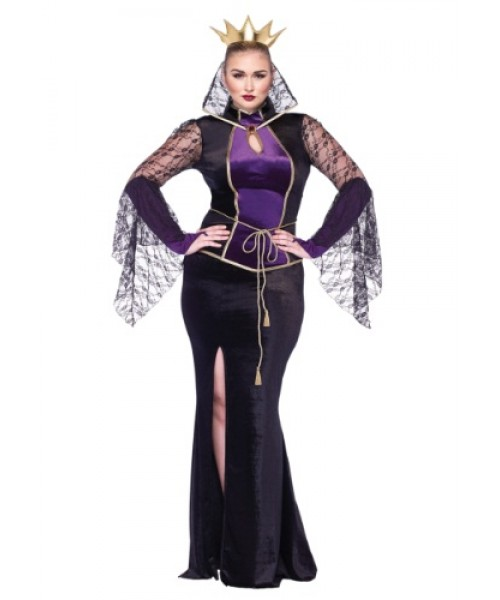evil queen women's plus size costume