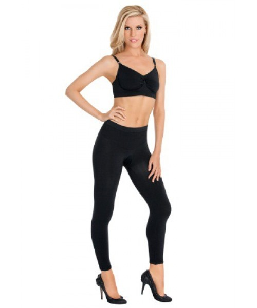 Womens Female Black Shaper Leggings Plus Size Costume