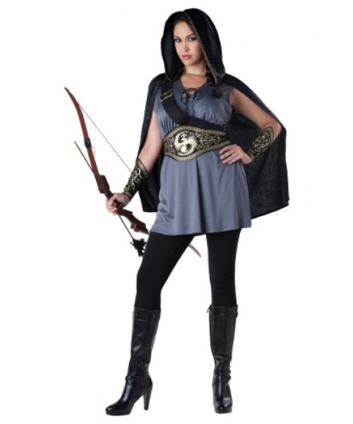 Womens Female Huntress Plus Size Costume