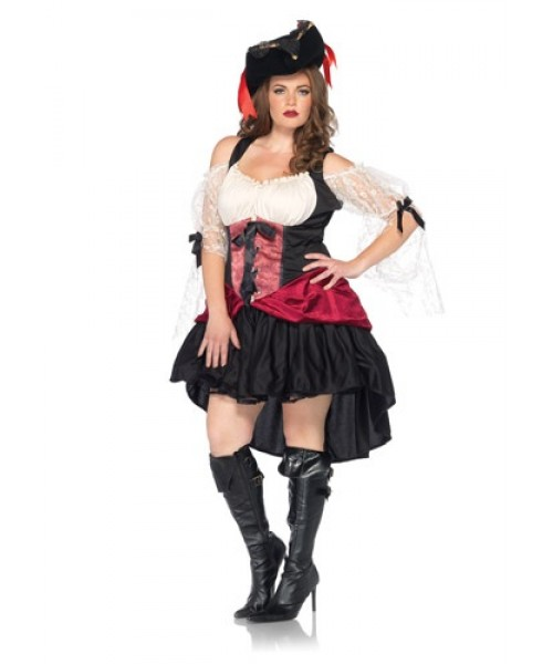 Womens Female Wicked Wench Plus Size Costume