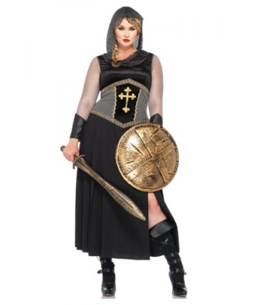 Womens Joan of Arc Plus Size Costume