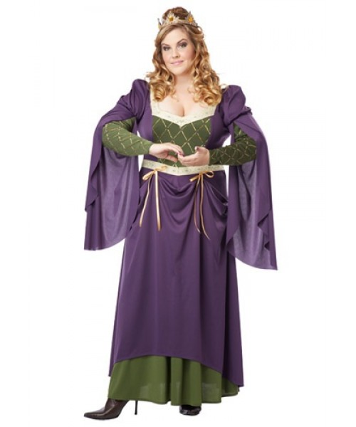 Womens Lady in Waiting Plus Size Costume