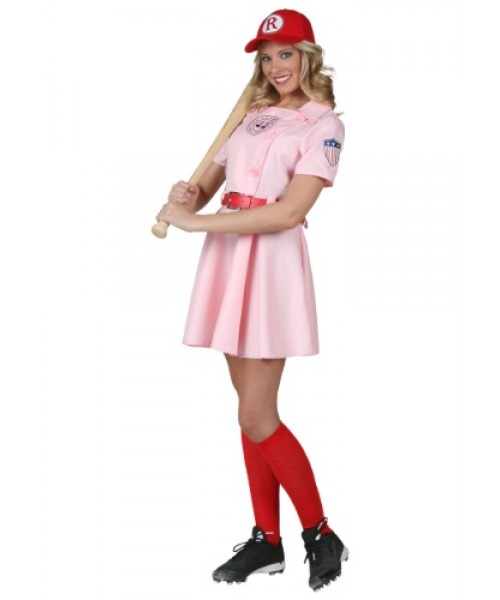 Womens League of Their Own Dottie Plus Size Costume