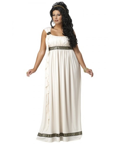 Womens Olympic Goddess Plus Size Costume
