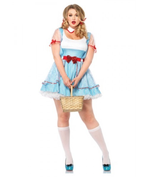 Womens Oz Beauty Plus Size Costume