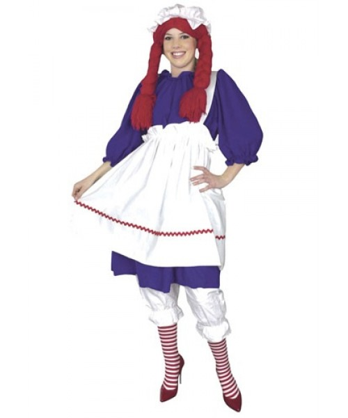 Womens Rag Doll Plus Size Costume
