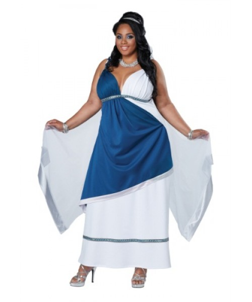 Womens Roman Beauty Plus Size Costume
