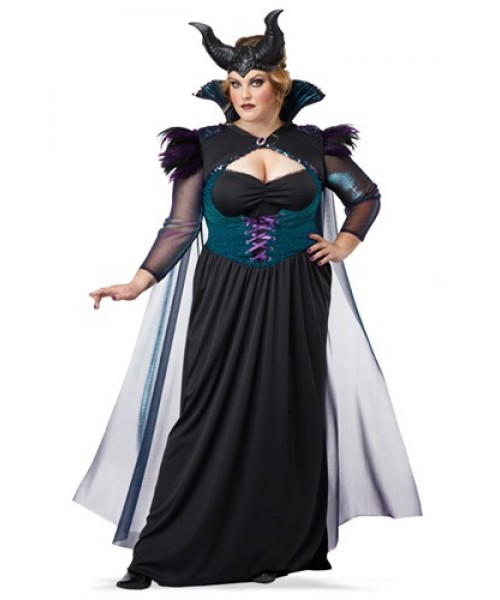 storybrook sorceress plus size women's costume
