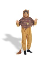 Cowardly Lion Mens Plus Size Costume