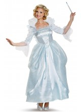 Disney Cinderella Movie Prestige Fairy Godmother Womens Plus Size Costume