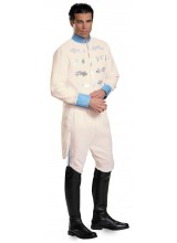 Disney Cinderella Movie Prince Mens Plus Size Costume