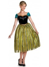 Frozen Anna Coronation Deluxe Womens Plus Size Costume