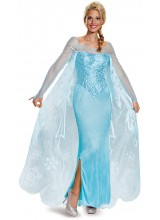 Frozen Elsa Prestige Womens Plus Size Costume