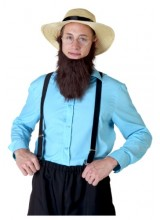 Mens Amish Man Plus Size Costume