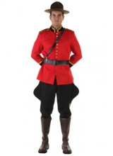 Mens Canadian Mountie Plus Size Costume
