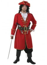 Mens Captain Blackheart Plus Size Costume