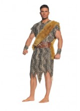 Mens Cave Dweller Plus Size Costume