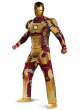 Mens Deluxe Iron Man Mark 42 Plus Size Costume