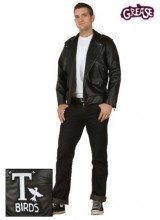 Mens Grease Authentic T Birds Jacket Plus Size Costume