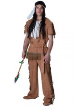 Mens Indian Plus Size Costume