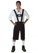 Mens Lederhosen Plus Size Costume