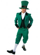 Mens Leprechaun Plus Size Costume