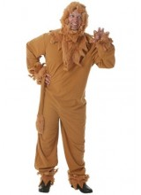 Mens Lion Mens Plus Size Costume