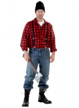 Mens Lumberjack Plus Size Costume