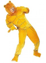 Mens Macho Lion Plus Size Costume