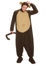 Mens Monkey Plus Size Costume