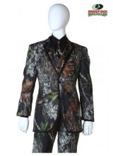Mens Mossy Oak Tuxedo Coat Plus Size Costume