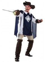 Mens Musketeer Plus Size Costume