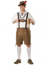Mens Oktoberfest Guy Plus Size Costume