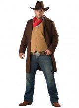 Mens Rawhide Cowboy Plus Size Costume