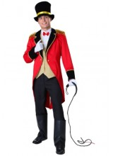 Mens Ringmaster Plus Size Costume