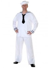 Mens Men's Sailor Plus Size Costume