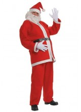 Mens Simply Santa Plus Size Costume