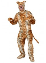 Mens Tiger Plus Size Costume
