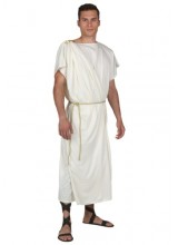Mens Men's Toga Plus Size Costume