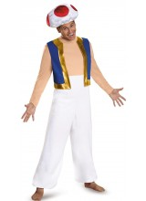 Super Mario Deluxe Toad Mens Plus Size Costume