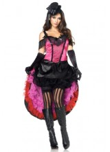 Womens Can Can Girl Plus Size Costume