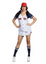 Womens Female Grand Slam Plus Size Costume