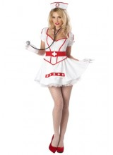 Womens Female Nurse Heartbreaker Plus Size Costume