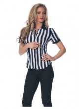 Womens Female Referee Shirt Plus Size Costume