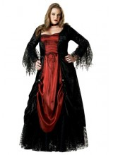 Womens Female Vampire Plus Size Costume