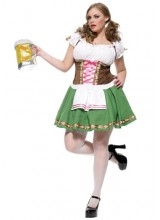 Womens German Beer Girl Plus Size Costume