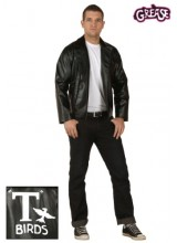 Womens Grease T Birds Jacket Plus Size Costume