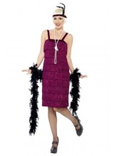 Womens Jazz Flapper Plus Size Costume